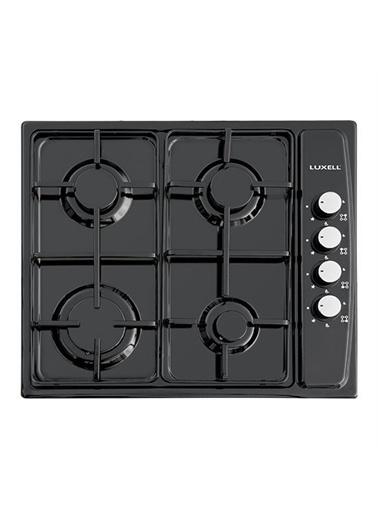 Luxell Luxell Siyah 3 Prg Project Ankastre Set ( Termostatlı Fırın ) Siyah